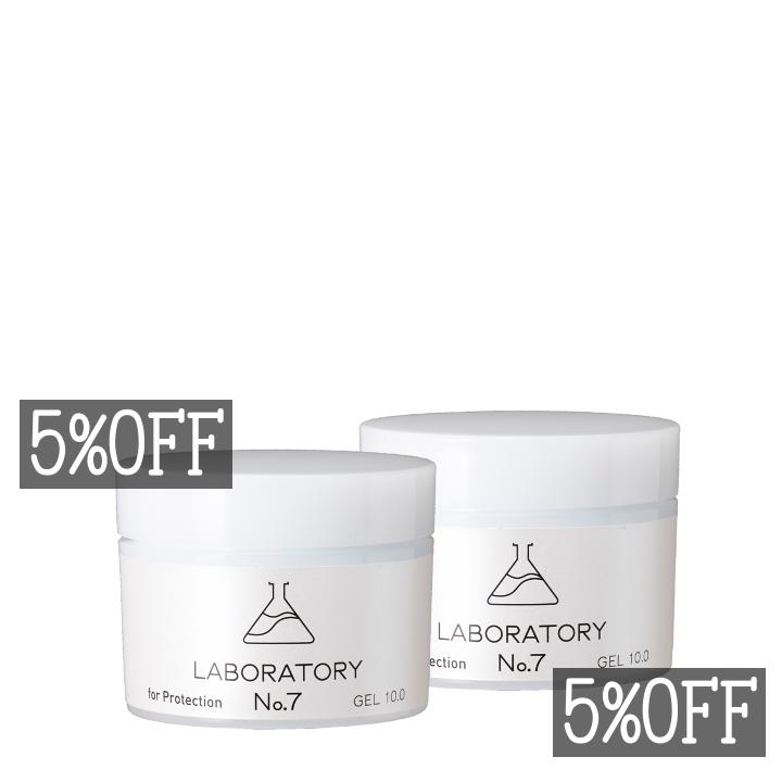 5%OFF薬剤師の化粧品LABORATORY No.7(ラボラトリーナンバーセブン)美容ジェルの2本セット